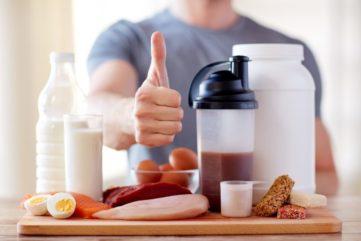 протеин для набора мышечной массы
