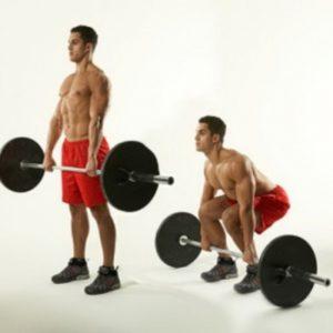 становая тяга упражнение