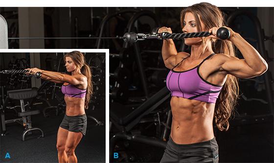 Программа тренировок для набора мышечной массы-тяга к лицу