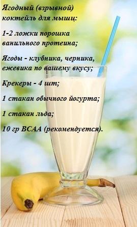Энергетические коктейли для похудения в домашних условиях