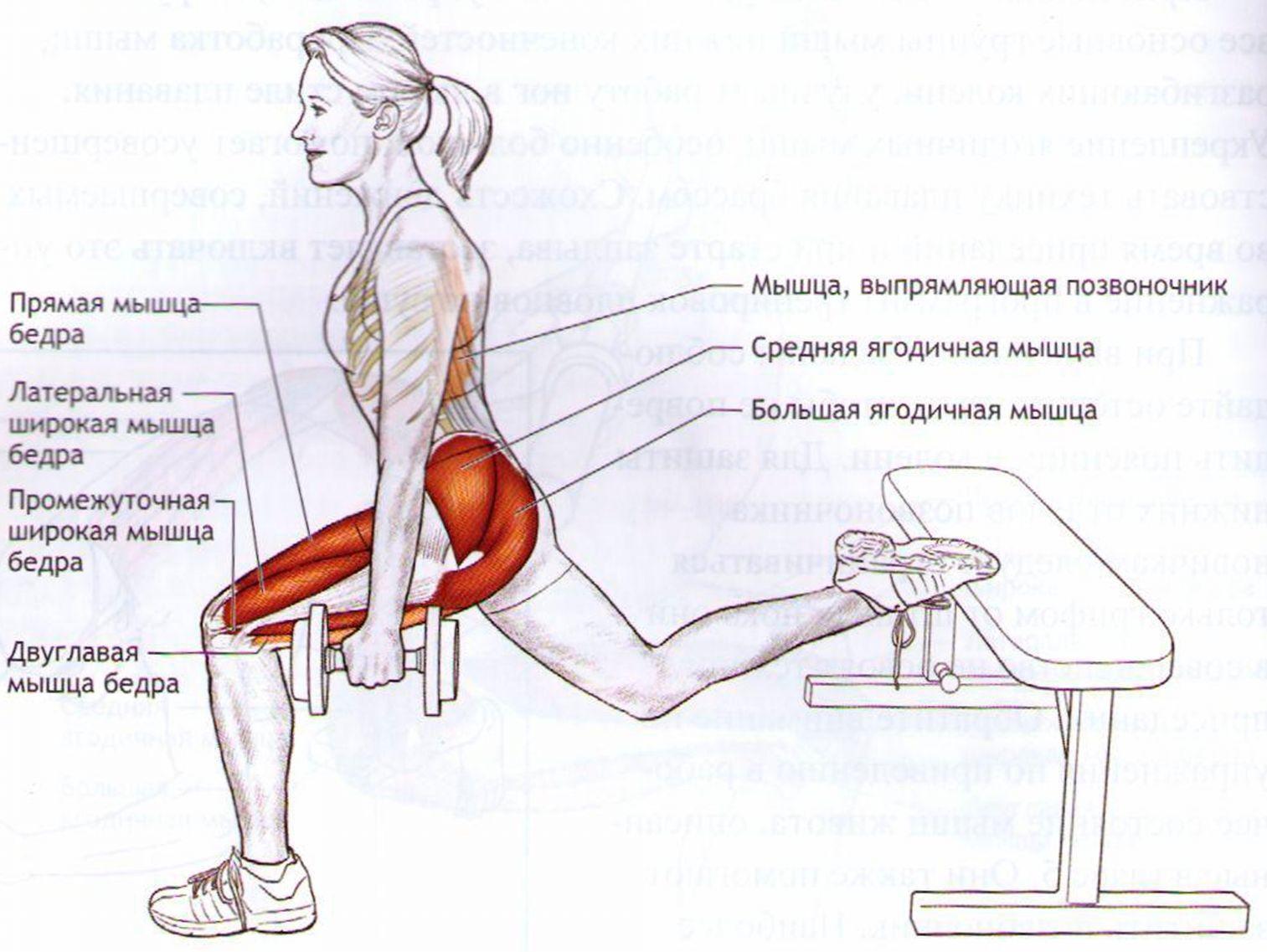 упражнения на ноги
