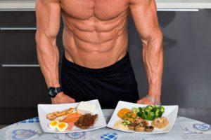 питание для набора мышечной массы-до и после