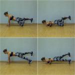 набор массы - подъем ноги