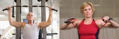 силовые тренировки - мышечные изменения с возрастом