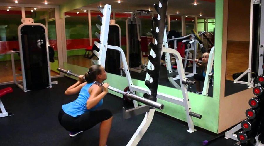 упражнения для ягодиц и ног для девушек 1