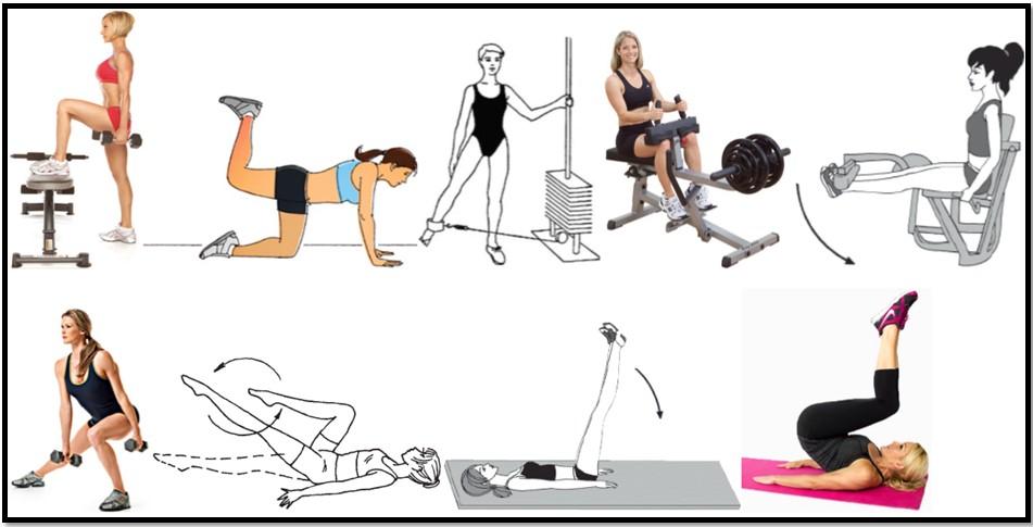 упражнения для ног улучшения