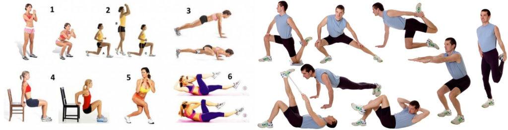 силовые тренировки и питание - упражнение