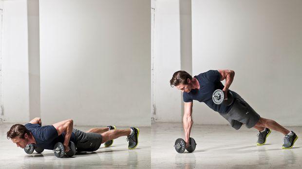 комплекс упражнений в домашних условиях отжимания ренегатные