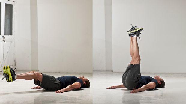 комплекс упражнений в домашних условиях подъем ног