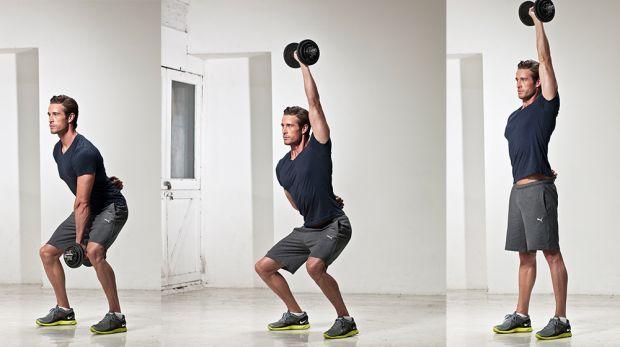 комплекс упражнений в домашних условиях силовой рывок
