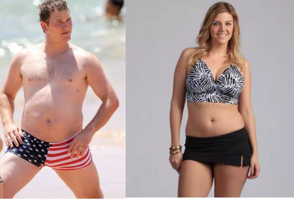 ожирение мужчина и женщина