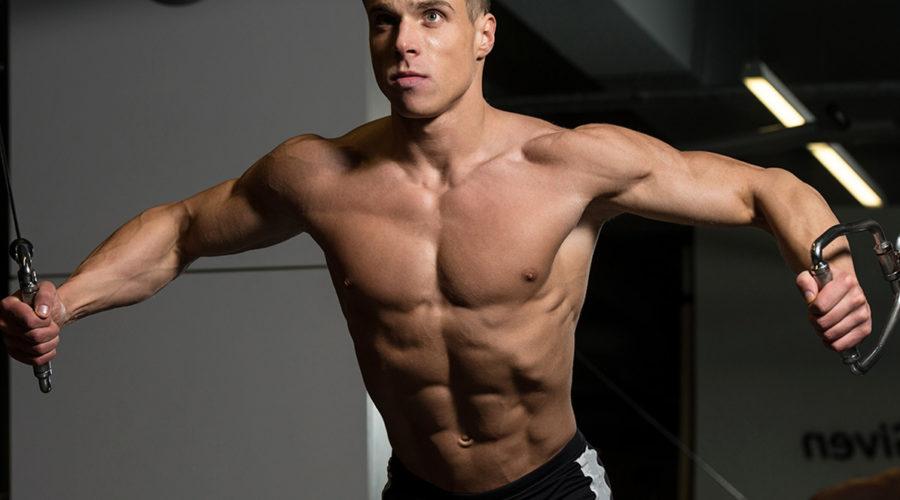 Упражнение кроссовер — проработка для грудных мышц