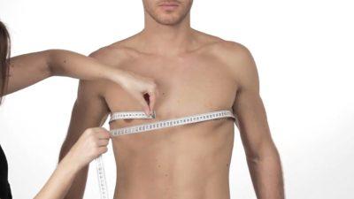 идеальное тело - замер груди
