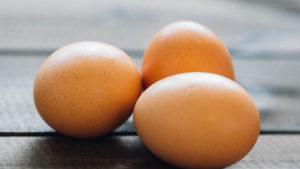 продукты с высоким содержанием белка - яйца