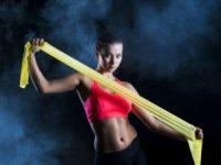 Упражнения с фитнес резинками - примеры тренировок