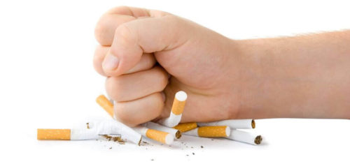 подтянуть дряблую после похудения - бросить курить