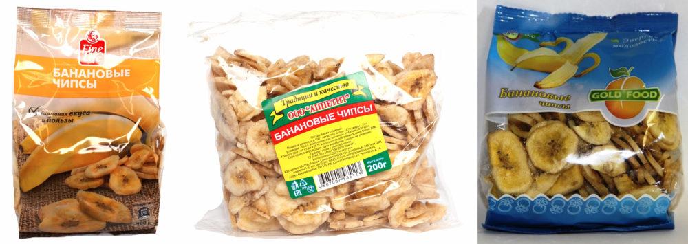 банановые чипсы - польза или вред для организма