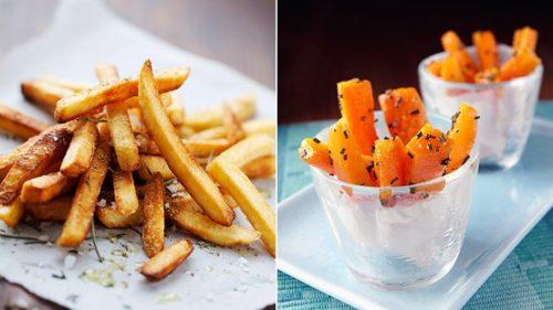 есть больше - польза морковь картофель фри