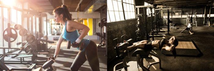 лучшее время для накачки мышц в тренажерном зале - научные исследования