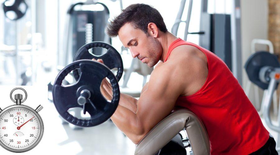 Отдых между подходами - оптимальный интервал для роста мышц