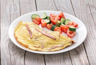 калорийность белково-жирового завтрака