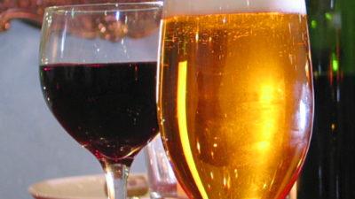напитки для здоровья и спорта - пиво или красное вино