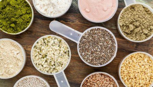 веганский план питания - растительные продукты