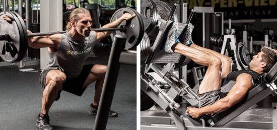 периодизация тренировок в жиме ногами