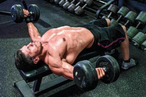 упражнение на грудь