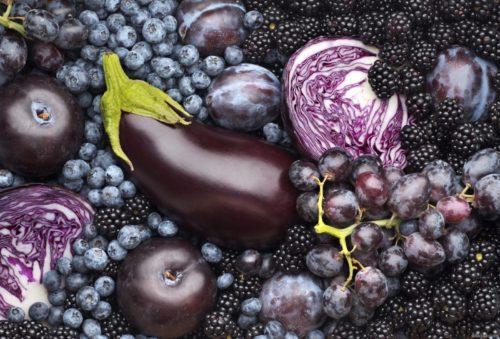антоцианы в овощах