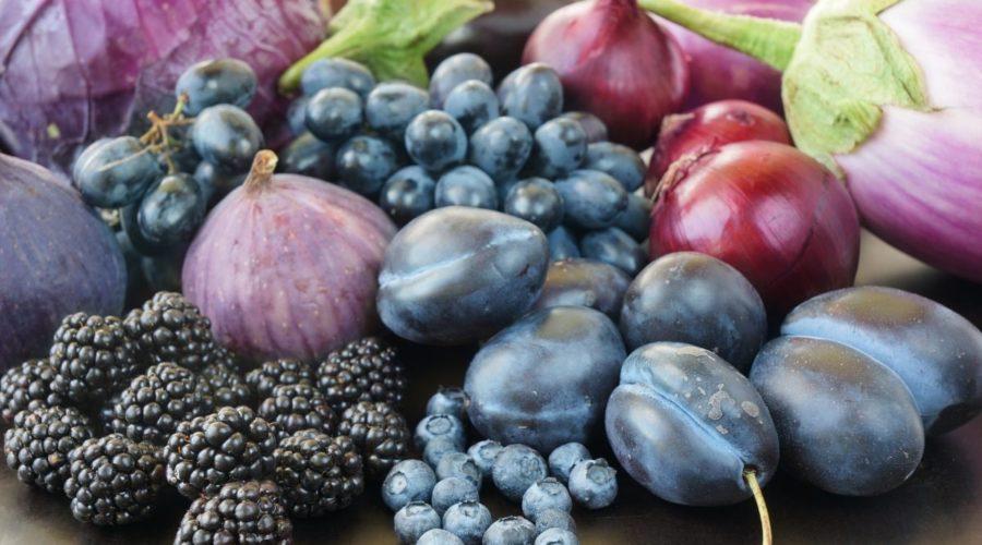 Антоцианы - ешьте продукты красного, синего и фиолетового цвета