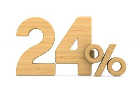 24 процента