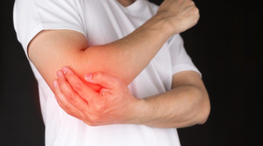 Как избавиться от боли в локтях при поднятии тяжестей