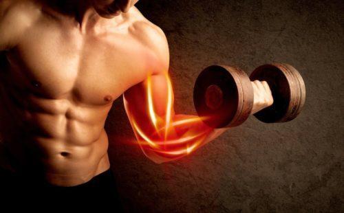 жжение в мышцах - снижает выносливость